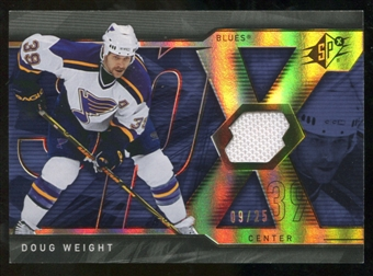 2007/08 Upper Deck SPx Spectrum #49 Doug Weight Jersey /25