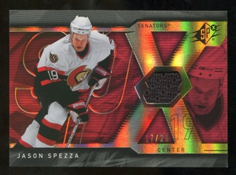 2007/08 Upper Deck SPx Spectrum #78 Jason Spezza Jersey /25
