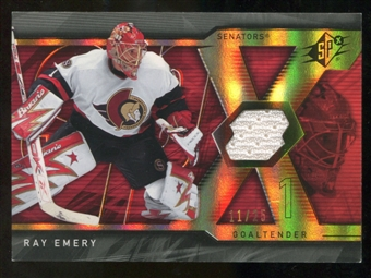 2007/08 Upper Deck SPx Spectrum #79 Ray Emery Jersey /25