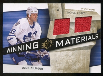 2008/09 Upper Deck SPx Winning Materials Spectrum #WMDG Doug Gilmour /99