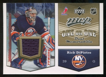 2007/08 Upper Deck One on One Jerseys #OODE Rick DiPietro/Robert Esche