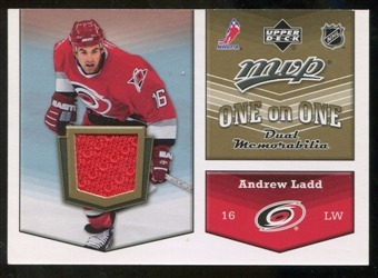 2007/08 Upper Deck One on One Jerseys #OOLC Andrew Ladd/Ryan Craig
