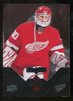 2008/09 Upper Deck Black Diamond Ruby #98 Chris Osgood /100