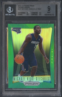 2012/13 Panini Prizm #237 Michael Kidd-Gilchrist Prizms Green Rookie BGS 9 *6213