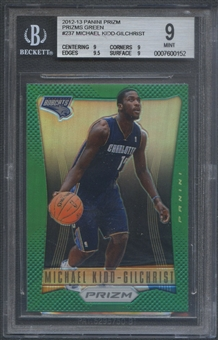 2012/13 Panini Prizm #237 Michael Kidd-Gilchrist Prizms Green Rookie BGS 9 *0152