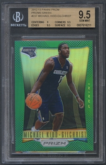 2012/13 Panini Prizm #237 Michael Kidd-Gilchrist Prizms Green Rookie BGS 9.5 *6211