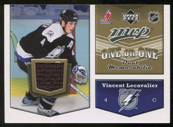 2007/08 Upper Deck One on One Jerseys #OOLJ Vincent Lecavalier/Olli Jokinen