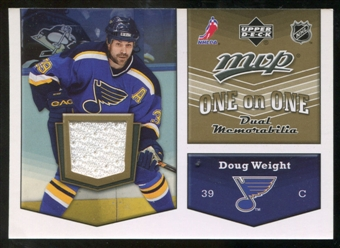 2007/08 Upper Deck One on One Jerseys #OOWH Doug Weight/Michal Handzus