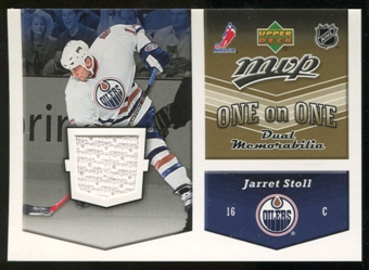 2006/07 Upper Deck Jerseys #OJJJ Jarret Stoll/Jeff Friesen