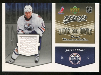 2006/07 Upper Deck Jerseys #OJJM Jarret Stoll/Marek Svatos
