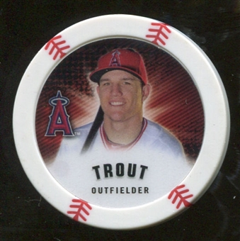 2013 Topps Chipz #MTR Mike Trout