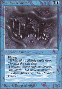 Magic the Gathering Alpha Single Phantom Monster - NEAR MINT (NM)