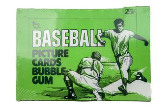 1977 Topps Baseball Cello Box
