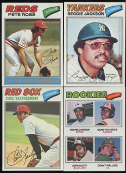 1977 Topps Baseball Complete Set (NM-MT)