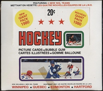 1979/80 O-Pee-Chee Hockey Wax Box