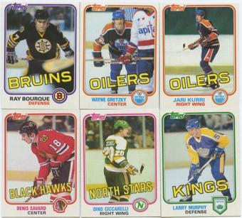 1981/82 Topps Hockey Complete Set (NM-MT)