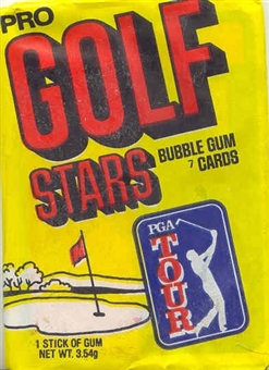 1981 Donruss Golf Wax Pack