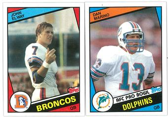 1984 Topps Football Complete Set (EX-MT)
