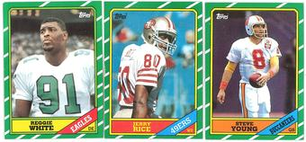 1986 Topps Football Complete Set (EX-MT)