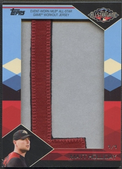 "2012 Topps #ITNR-51 Matt Holliday In the Name Letter ""L"" Patch #1/1"