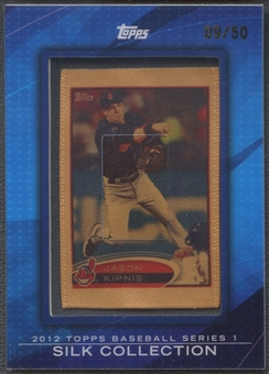 2012 Topps #SC50 Jason Kipnis Silk Collection #09/50