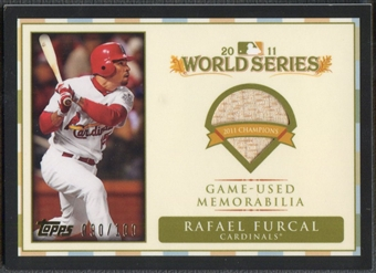 2012 Topps #RF Rafael Furcal World Champion Relics Bat #090/100
