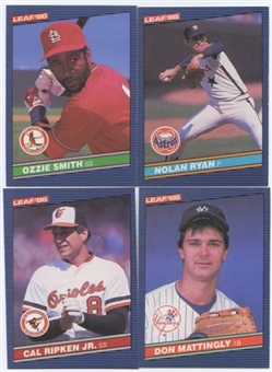 1986 Donruss Leaf Baseball Complete Set (NM-MT)