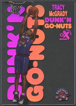 1998/99 E-X Century #10 Tracy McGrady Dunk 'N Go Nuts