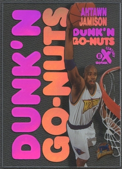 1998/99 E-X Century #11 Antawn Jamison Dunk 'N Go Nuts