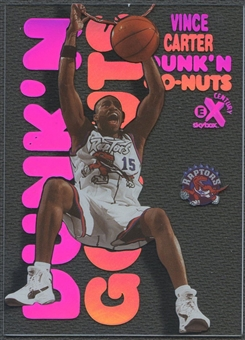 1998/99 E-X Century #12 Vince Carter Dunk 'N Go Nuts