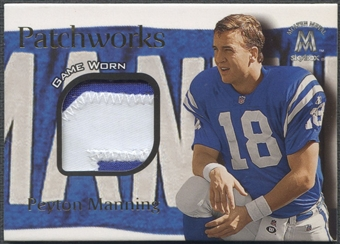 1999 SkyBox Molten Metal #9 Peyton Manning Patchworks Patch