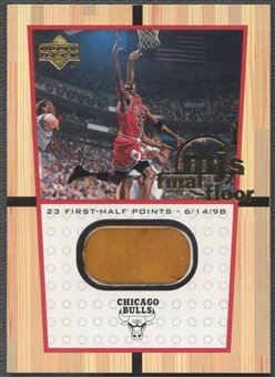 1999/00 Upper Deck #FF5 Michael Jordan MJ Final Floor