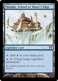 Magic the Gathering Champs of Kamigawa Single Minamo School at Water's Edge - NEAR MINT (NM)