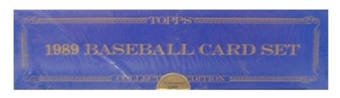 1989 Topps Tiffany Baseball Factory Set