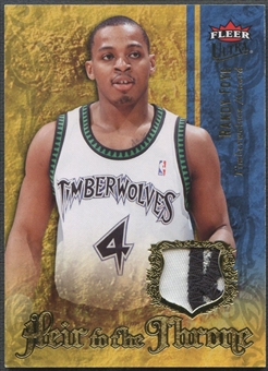 2007/08 Ultra SE #HTRF Randy Foye Heir to the Throne Patch #15/25