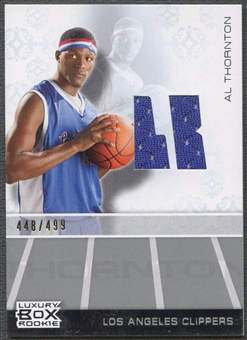 2007/08 Topps Luxury Box #AT Al Thornton Rookie Jersey #448/499