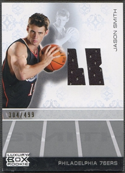 2007/08 Topps Luxury Box #JS Jason Smith Rookie Jersey #304/499