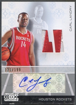 2007/08 Topps Luxury Box #CL Carl Landry Rookie Patch Auto #121/199