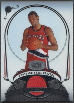 2007/08 Bowman Sterling #GO2 Greg Oden Rookie Jersey /975