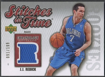 2006/07 Chronology #SITJR J.J. Redick Stitches in Time Rookie Jersey #091/199