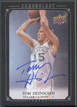 2007/08 Chronology #202 Tom Heinsohn Auto #89/99