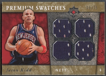 2006/07 Ultimate Collection #PRJK Jason Kidd Premium Swatches Jersey #08/75