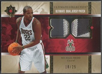 2006/07 Ultimate Collection #UJMR Michael Redd Dual Patch #18/25