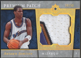 2006/07 Ultimate Collection #PRAJ Antawn Jamison Premium Swatches Patch #34/50