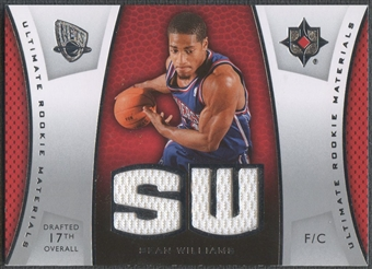 2007/08 Ultimate Collection #SW Sean Williams Materials Rookie Jersey