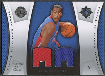 2007/08 Ultimate Collection #AA Arron Afflalo Materials Rookie Jersey