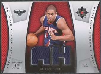 2007/08 Ultimate Collection #AH Al Horford Materials Rookie Jersey