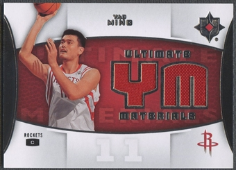 2007/08 Ultimate Collection #YM Yao Ming Materials Jersey