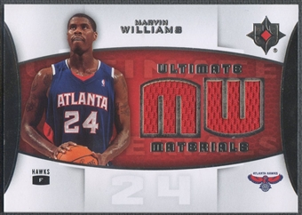 2007/08 Ultimate Collection #MW Marvin Williams Materials Jersey