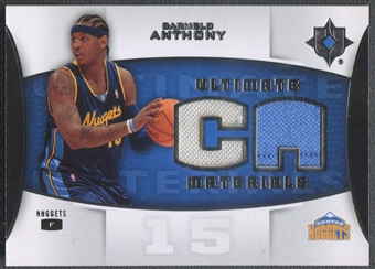 2007/08 Ultimate Collection #CA Carmelo Anthony Materials Jersey